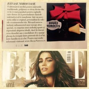 Ravas Norocos ELLE Magazine